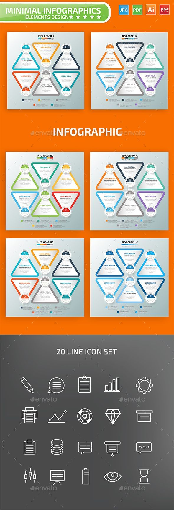 Infographic Design Professional infographic template