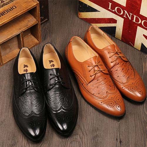 Hot-sale-new-2015-men-oxfords-genuine-leather-brogues-men-dress ...