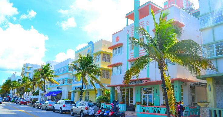 Bons restaurantes na Ocean Drive em Miami #viagem #miami #orlando