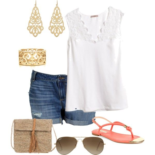 Summer 6- plus size outfit