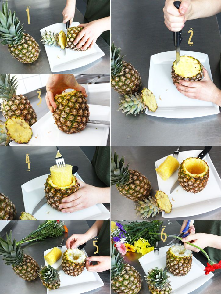 Photo of Ananas Vase DIY