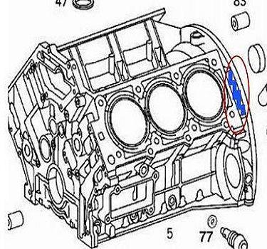 solve the mercedes benz crankshaft position sensor problem mercedes benz a160 engine diagram the 3 2 l v 6 m112 engine diagram