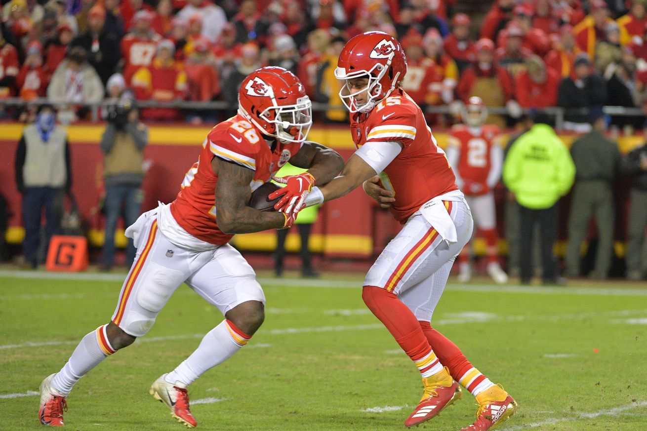 Chiefs favored vs. Colts on Sunday NFL Divisional Round