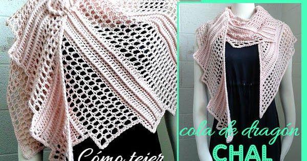 Todo crochet | Pinterest | Cómo tejer, Chal y Como tejer