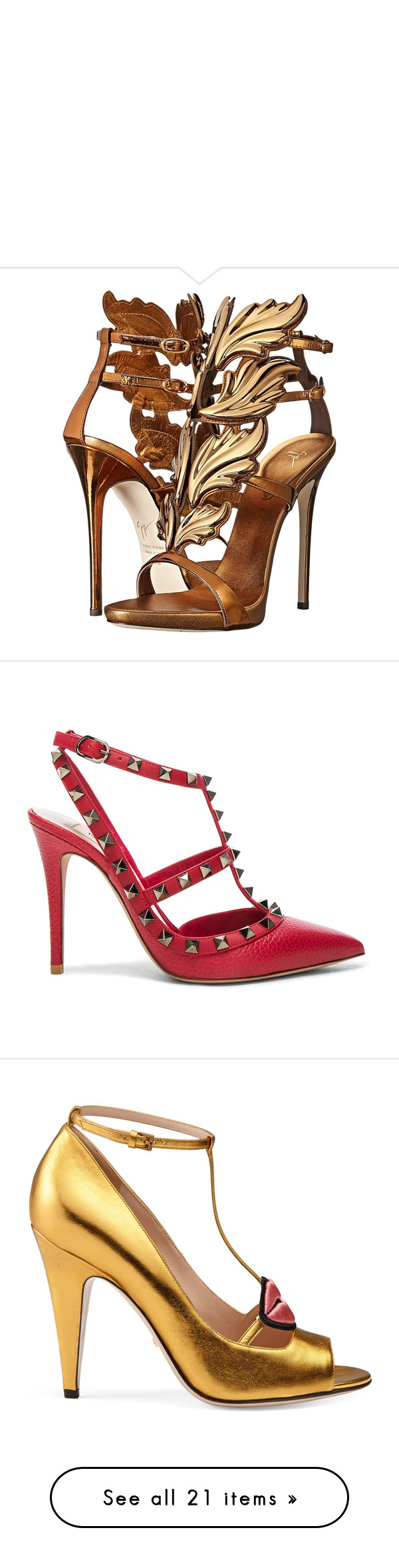 """"""""""" by ms216 ❤ liked on Polyvore featuring shoes, sandals, heels, giuseppe zanotti, shoes and boots, leather ankle strap sandals, giuseppe zanotti sandals, platform heel sandals, metallic platform sandals and open toe platform sandals"""
