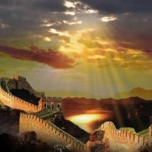 Chinese Wall by Sareni