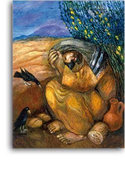 Elijah by Sieger Köder