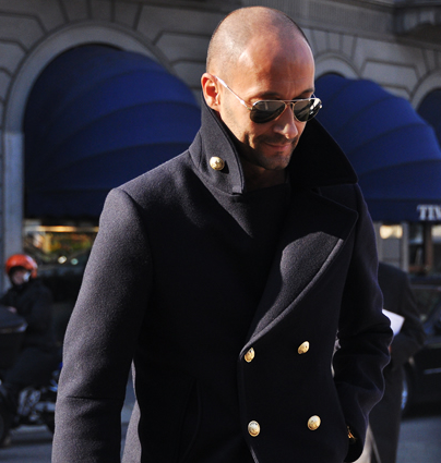 Stylish variation on the peacoat | Timeless Fashion for Men ...