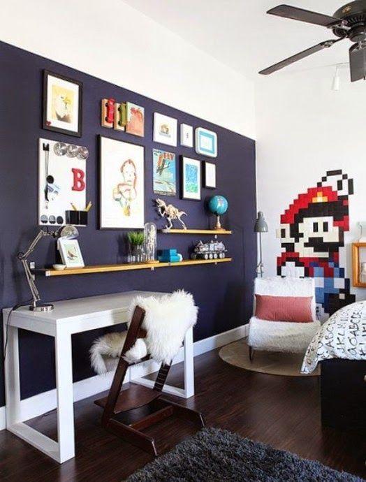 Habitaciones tem ticas para ni os de mario bros elegantes dormitorios tem ticos recamara - Habitaciones tematicas para ninos ...