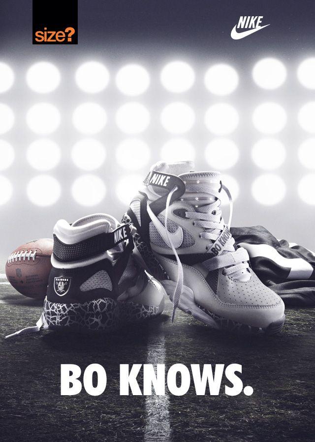 Bo Knows Nike Shoes Raiders