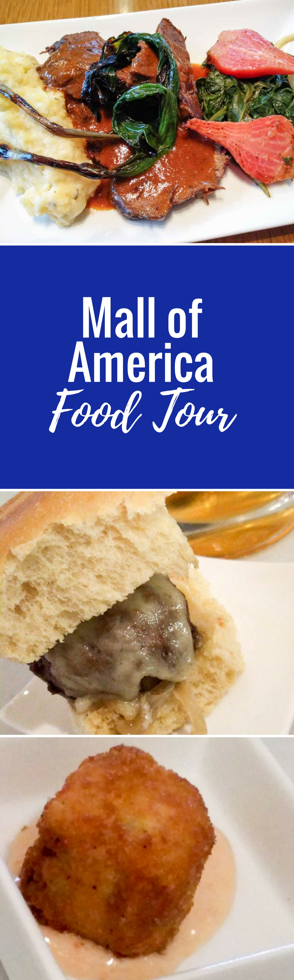 Mall of america food tour seriously seriously food