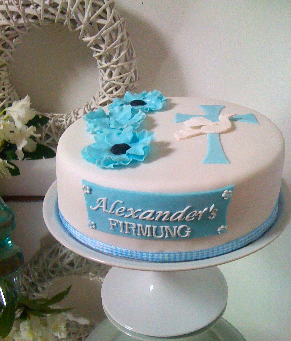 Confirmation Cake Torte zur Firmung  Konfirmation