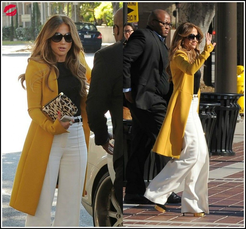 as always JLO on point with her fashion!  ...Love her!