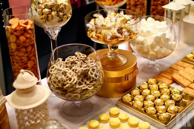 UNIQUE /& NEW..WEDDING CANDY BUFFET//SWEET TABLE//SWEETIE BAR..CANDLES WITH WRAPS