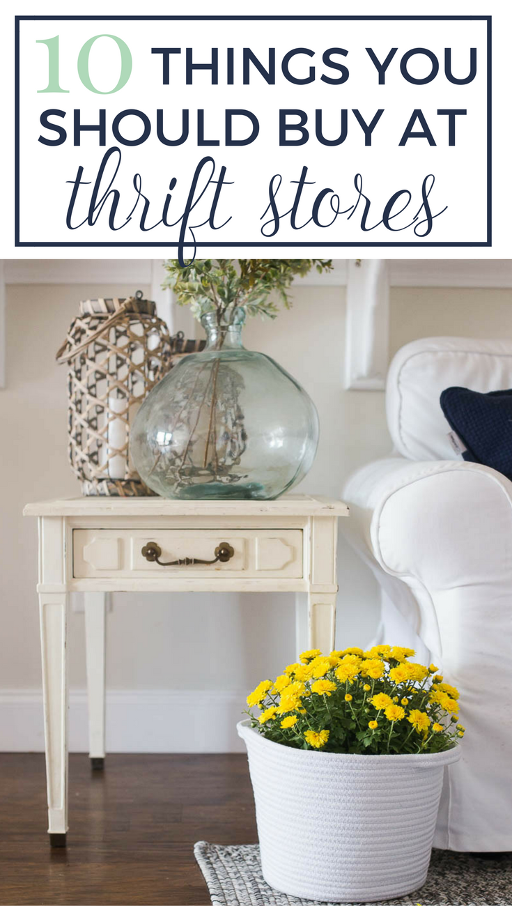 10 Things To Buy At Thrift Stores That Will Make Your Home Look Like A Million Bucks