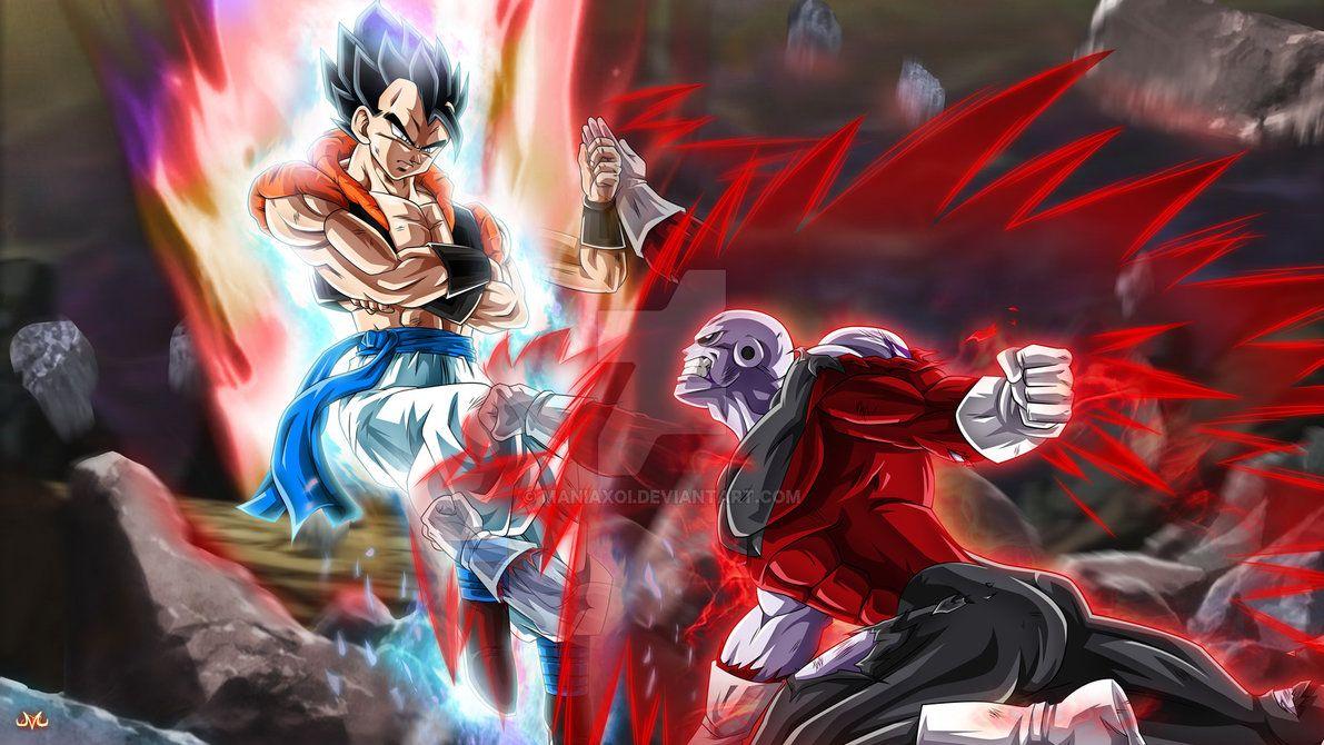 Gogeta Vs Jiren By Maniaxoi Deviantart Com On Deviantart Dragon Ball Dragon Ball Art Dragon Ball Super
