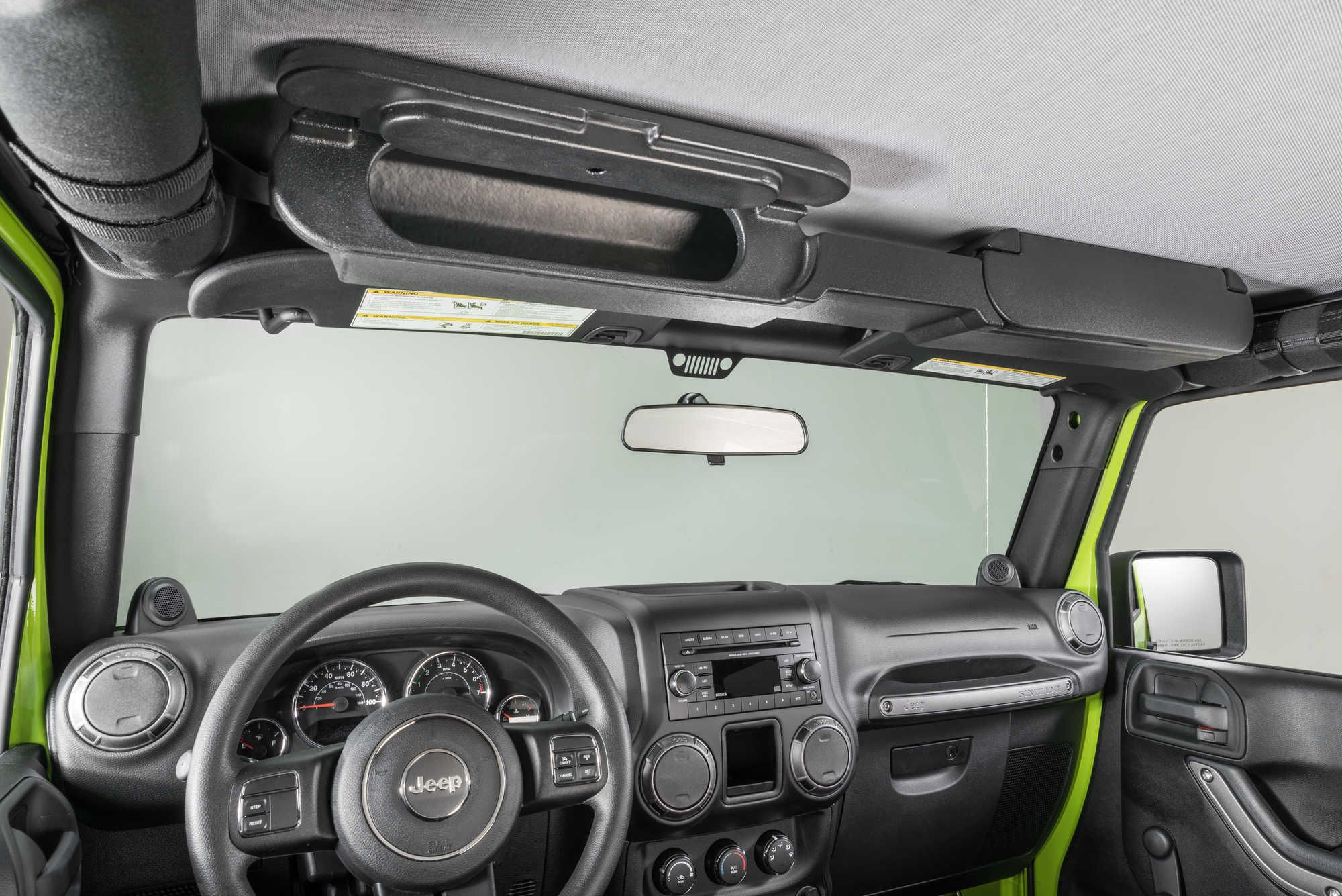 Vertically Driven Products 31700 Overhead Storage Console For 87 20 Jeep Wrangler Yj Tj Jk Jl Gladiator Jt Jeep Wrangler Yj Jeep Parts Jeep