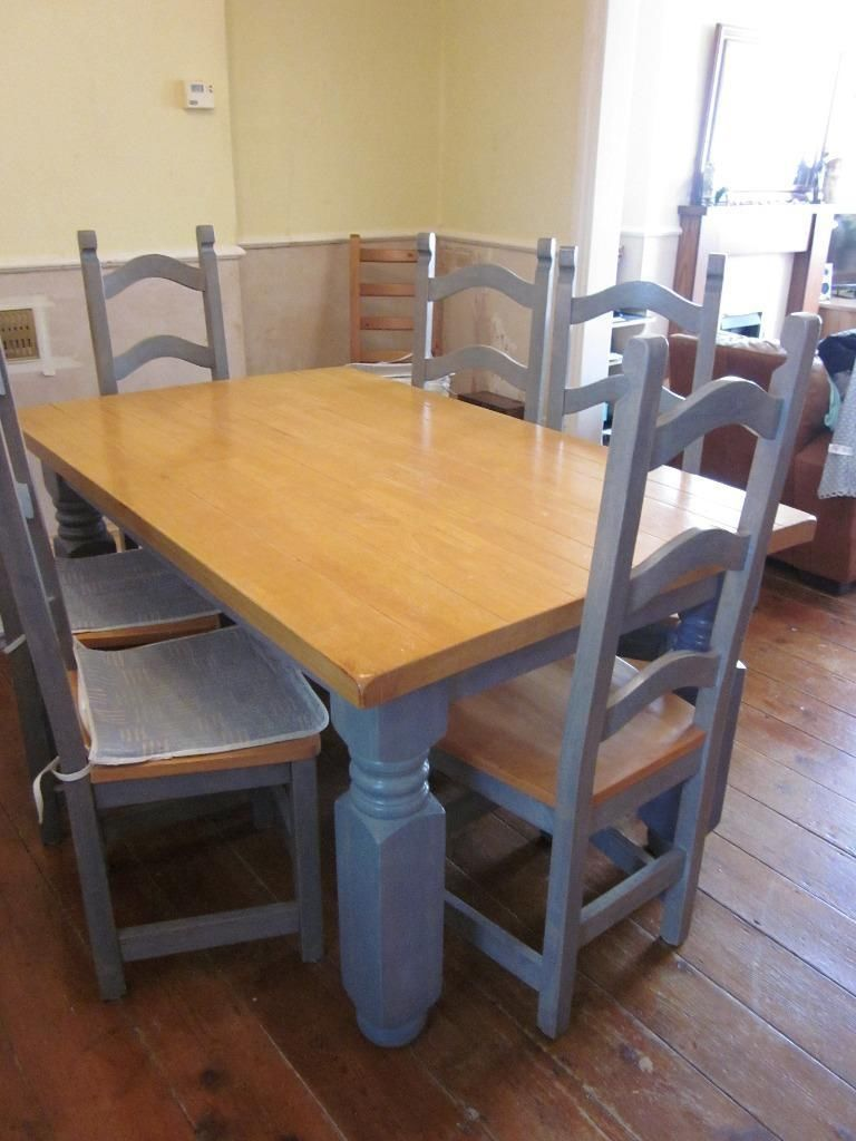 Table N 6 Chairs Reduced Dunmurry Belfast Gumtree Dining