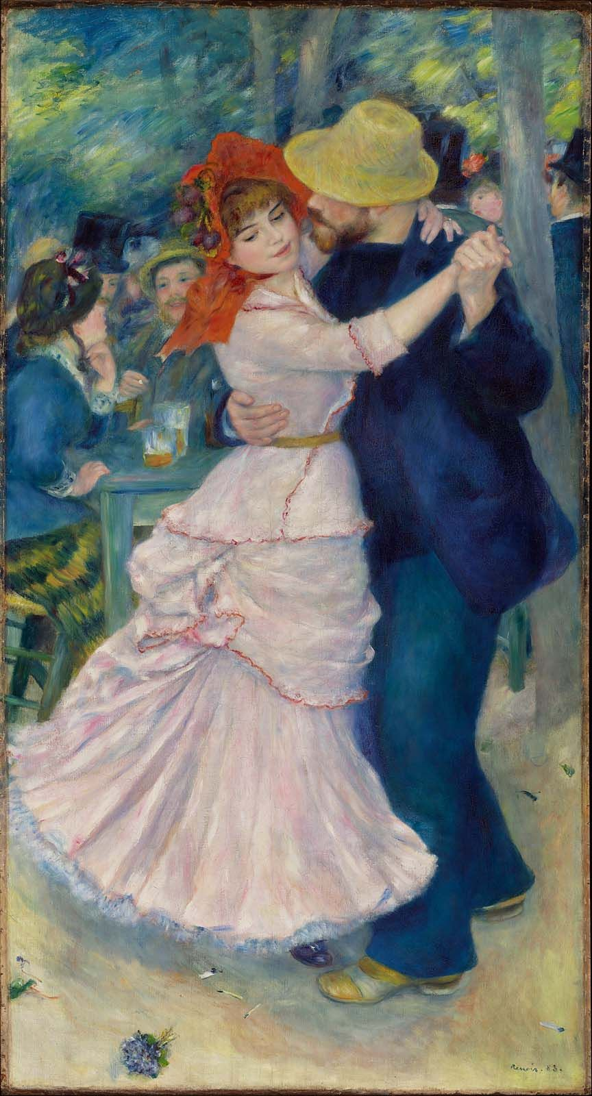 Dance At Bougival Museum Of Fine Arts Boston Suzanne Valedon - Famous art museums in usa