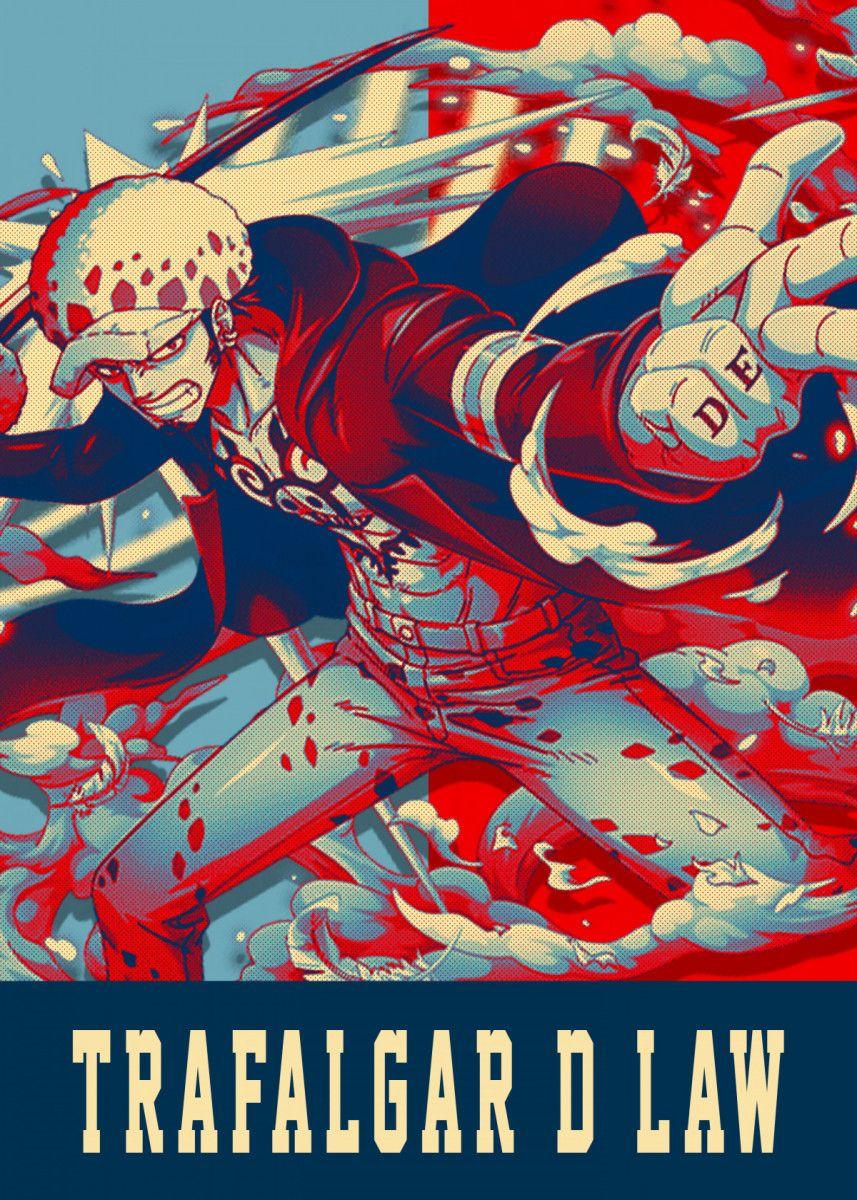 'Trafalgar D Law' Poster Print by Lost Boys Dsgn | Displate