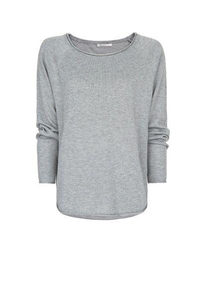 MANGO - Loose-fit knit sweater Camisolas Largas 325ba39dcc31b