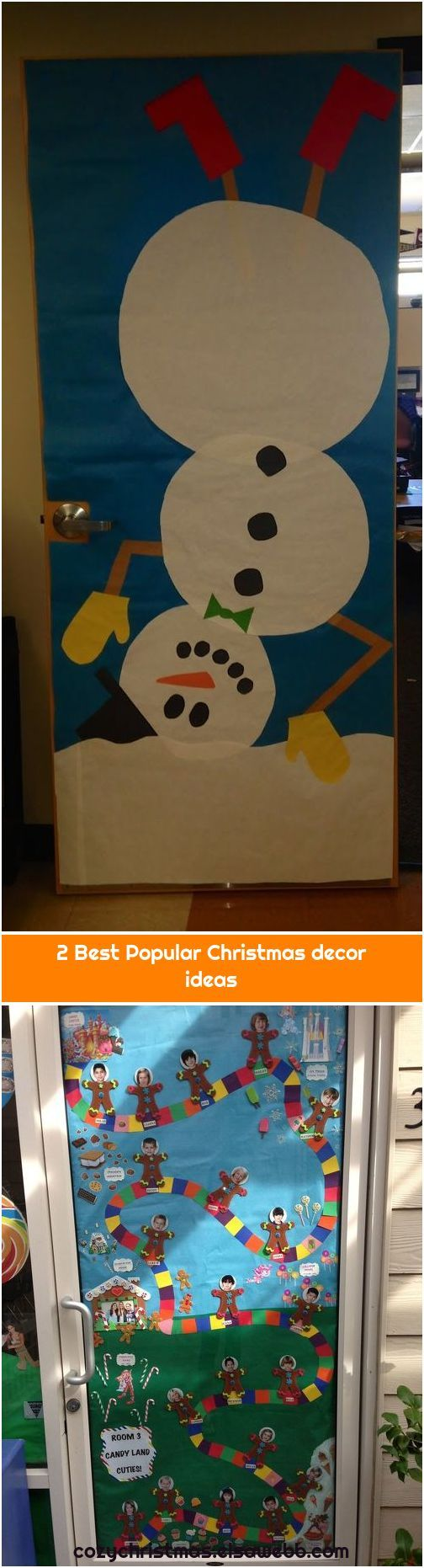 2 Best Popular Christmas decor ideas 1. Candy Land Door Room 3 Classroom Ideas Christmas Candy Land
