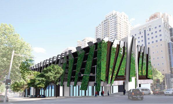 Multilevel car parking facade google search parking for Hotel parking design