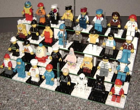 Lego organization - mini figures