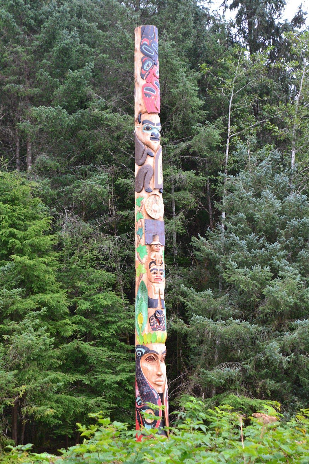 totem poles | Tlinget Totem Pole, Totem Park, Sitka 9/19/12