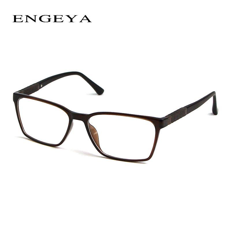 7312fff4dc6 ENGEYA TR90 Clear Fashion Glasses Frame Men Optical Myopia Brand Designer  Transparent Glasses Frames 3 Bright