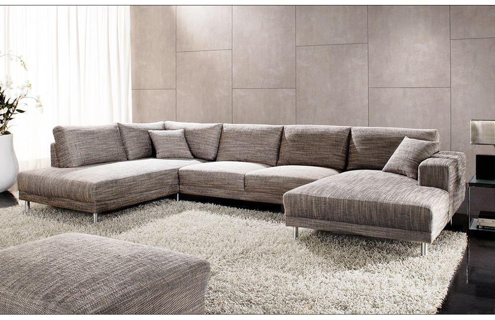 die besten 25 wohnlandschaft grau ideen auf pinterest wohnlandschaft warmes grau und ruhe grau. Black Bedroom Furniture Sets. Home Design Ideas