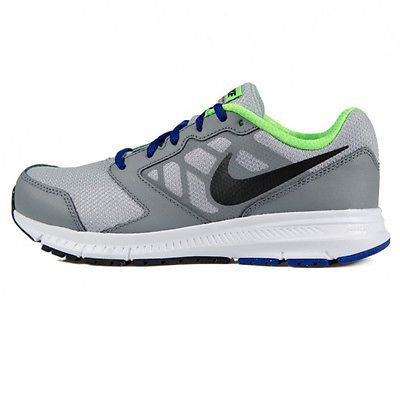 wholesale dealer 4efba 6efc3 Nike Downshifter 6 Gs Big Kids 684979-009 Grey Royal Blue Athletic Shoes Sz  7