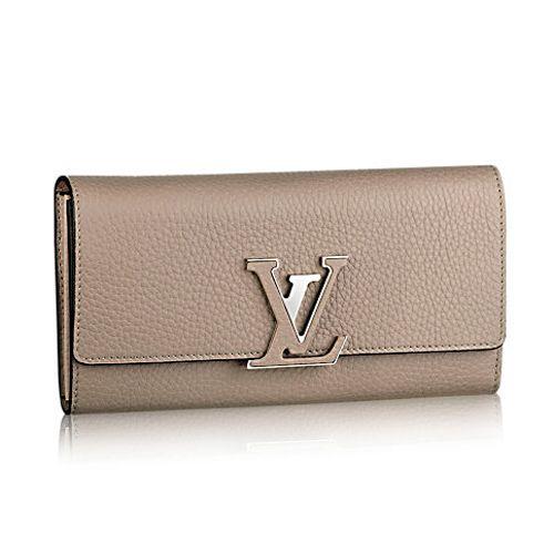 62e76a9ca3e5 UK Louis Vuitton Capucines Wallet M61249 Galet