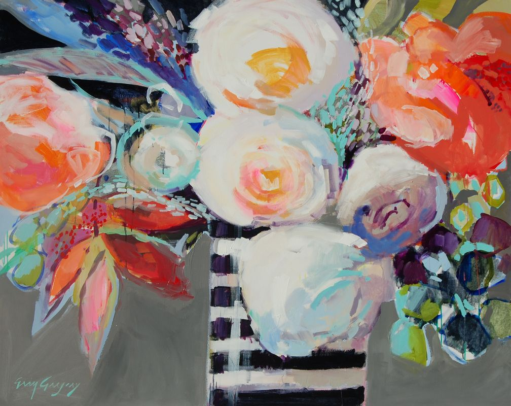 paintings by <br />erin fitzhugh gregory