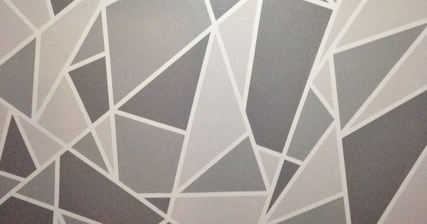 Project Nursery V 1 A Geometric Mosaic Wall In Grey