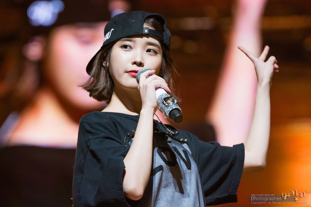 IU Has Perfected The Short Hair Style — Koreaboo