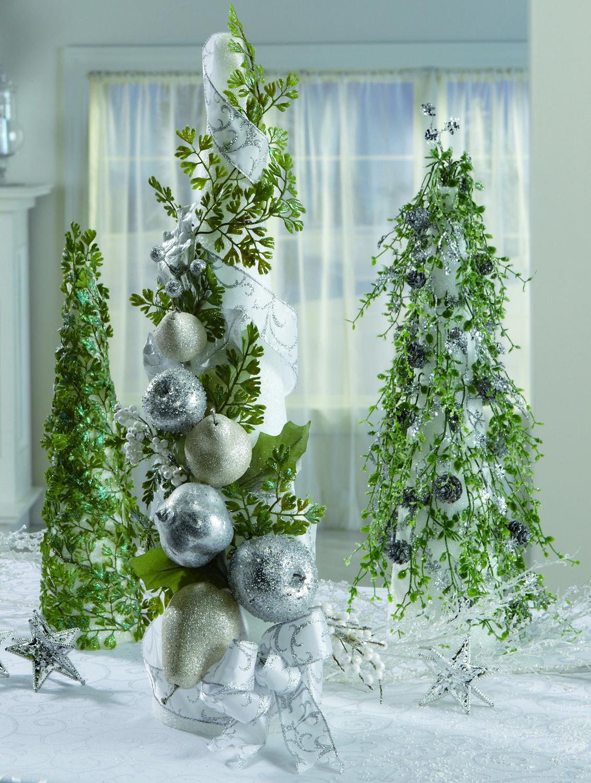 FloraCraft® Decorative Evergreen Cones by Dondi Richardson #christmas #craft