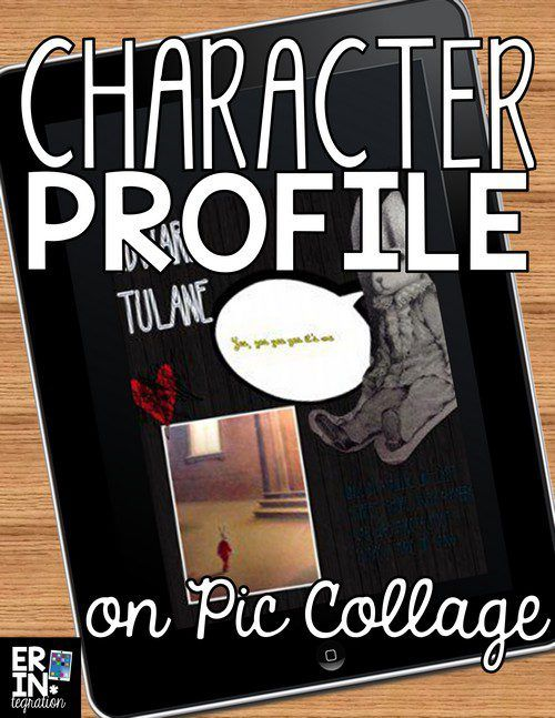 PIC COLLAGE CHARACTER PROFILES Character profile