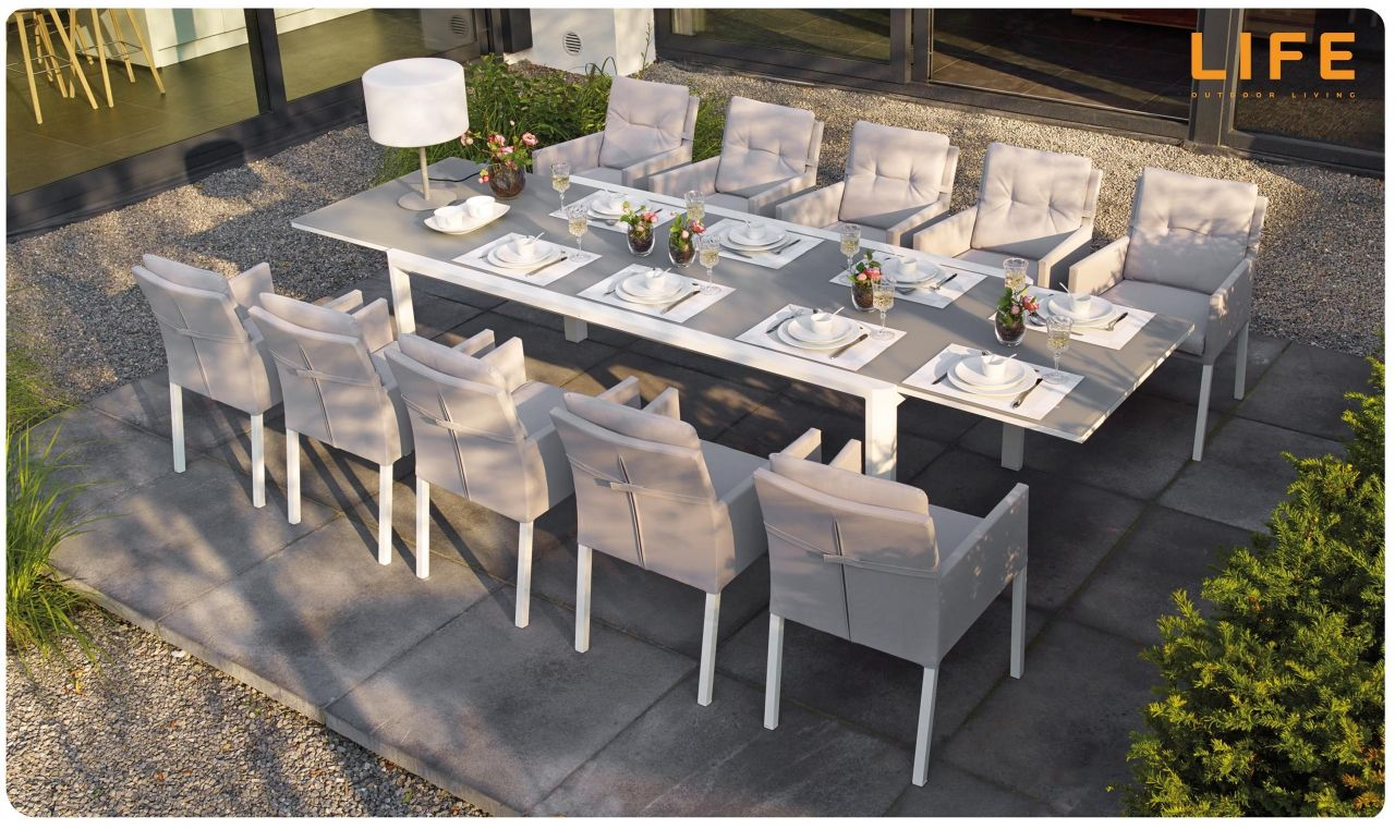Dining Set Anabel Caribean | Gartenmöbel Kollektion | LIFE Outdoor