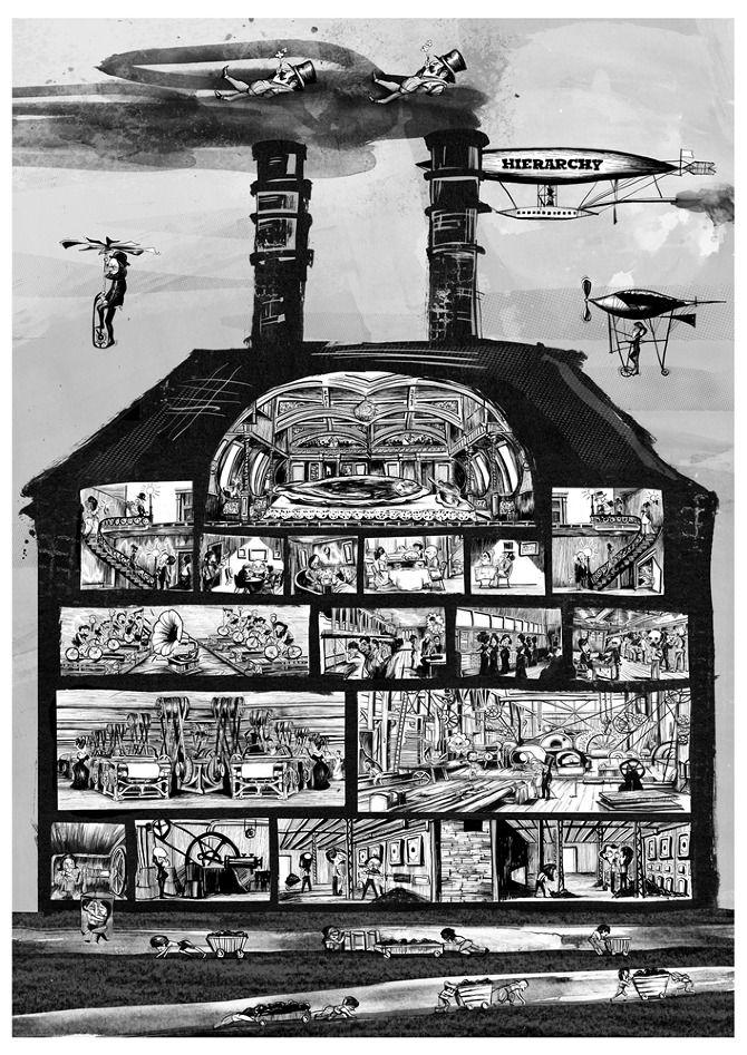 Industrial Revolution Illustration Ben Jennings Industrial