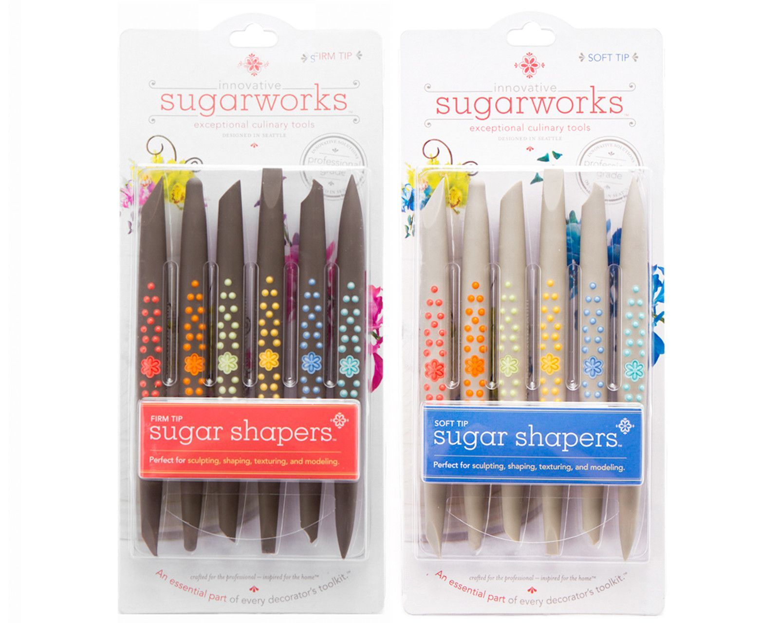 Packaged Sugar Shapers | Cake decorating company, Baking ...