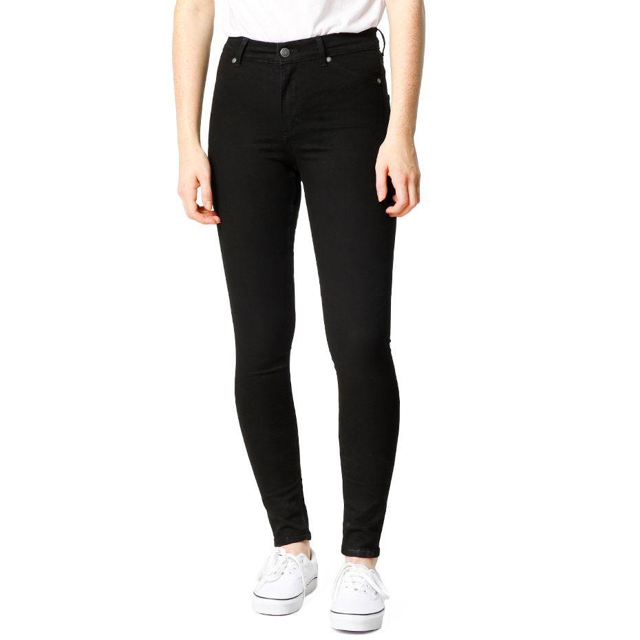Jeans med høy midje fra Cheap Monday. Materiale: 73