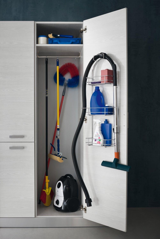 Hochschrank Mit Einlegeboden Fur Die Waschkuche Diotti Com Putzschrank Haushaltsschrank Ikea Dielenschrank Ikea