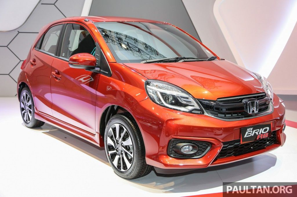 Honda Brio Rs Launched Indonesia Honda Brio Honda Brio