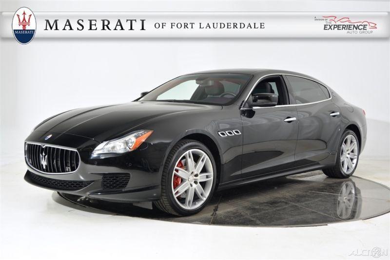 Maserati quattroporte s q4 awd 632mo warranty 1 owner maserati sciox Images