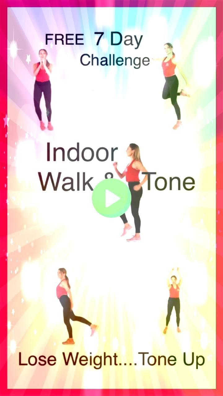 AT HOME CHALLENGE  LWR Fitness If you want to lose weight and tone up for free at home  then you will love this 7 Day Walking and Toning at Home  everyday you follow the...