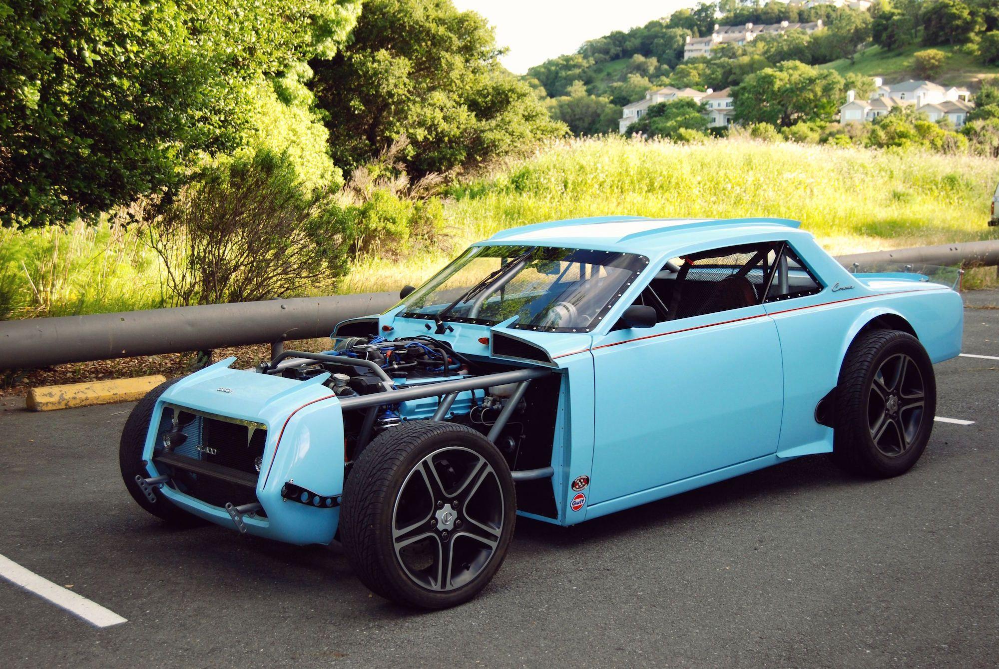 Toyota Corona meets Lexus to create a very modern HotRod