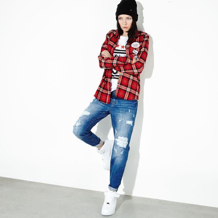Jeansy Boyfriend Cropp Style My Style Inspiration