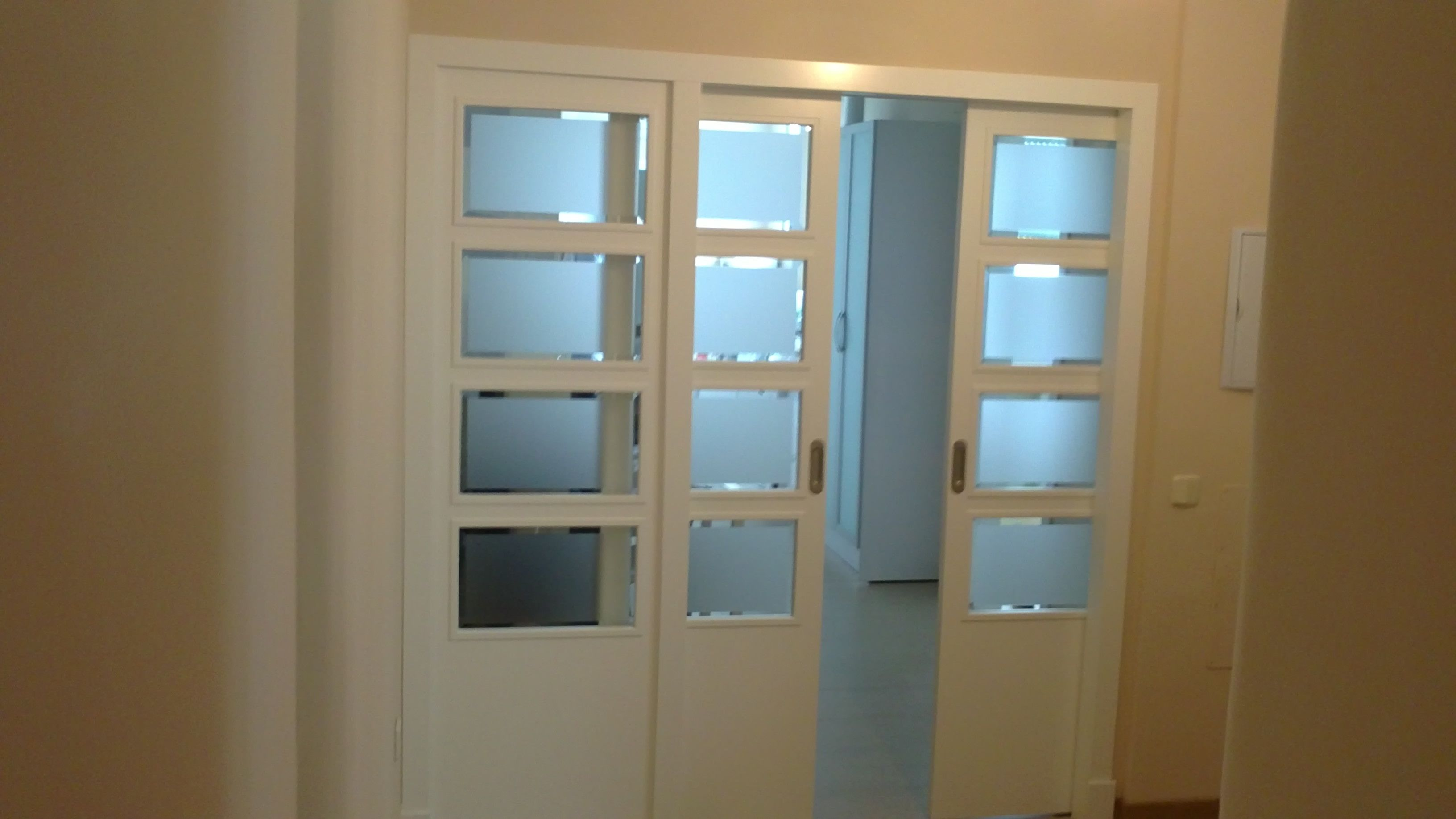 5050v Corredera 2 Hojas M S Hoja Fija Puertas Lacadas En Blanco  ~ Reparar Puertas Lacadas En Blanco