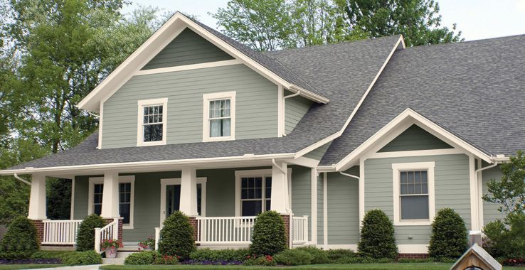 Colors for my new house sherwin williams body sw 6199 rare gray trim sw 7571 casa blanca for Accent colors for gray exterior